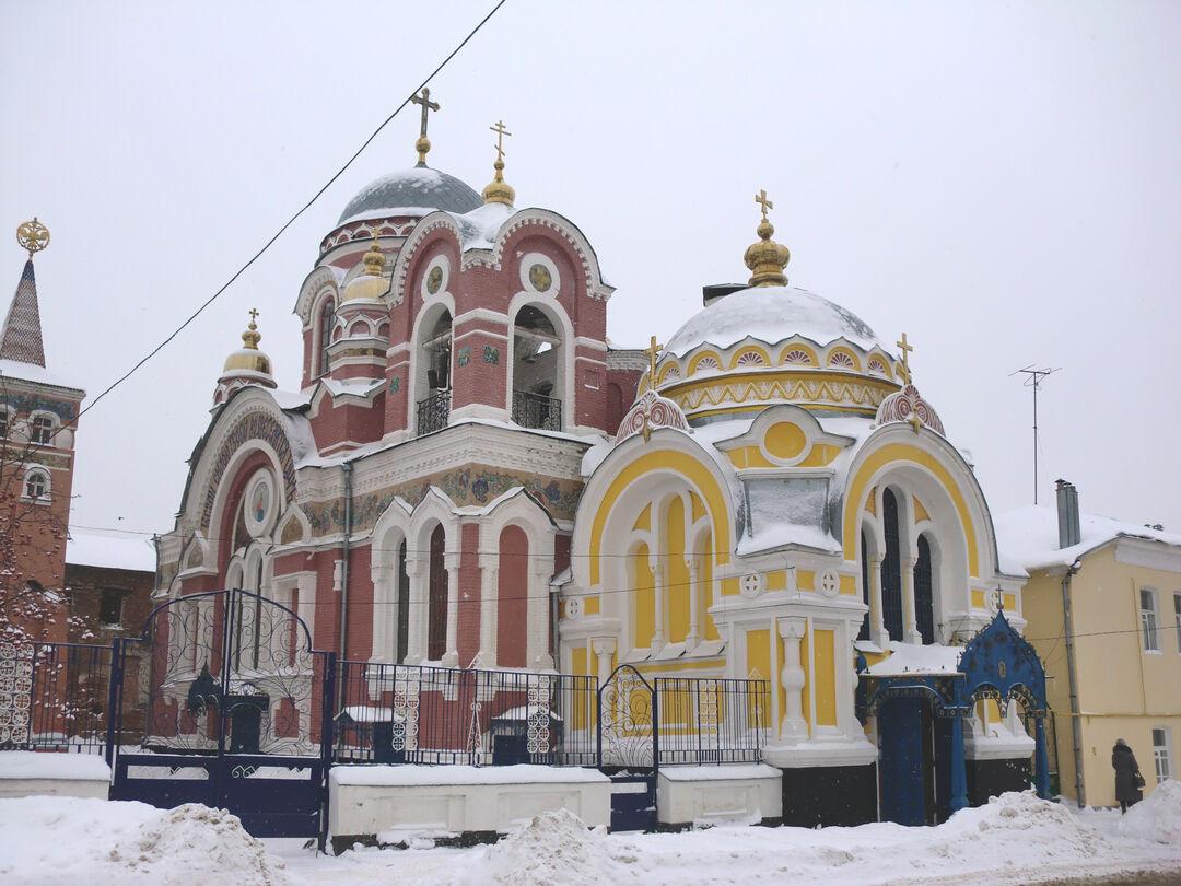 Великокняжеская церковь, Липецкая область, г. Елец, улица Советская, 90