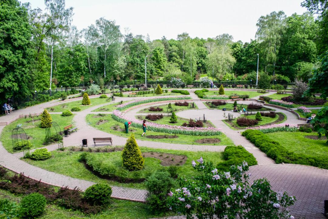 парки москвы фото с названиями и описанием верхней части